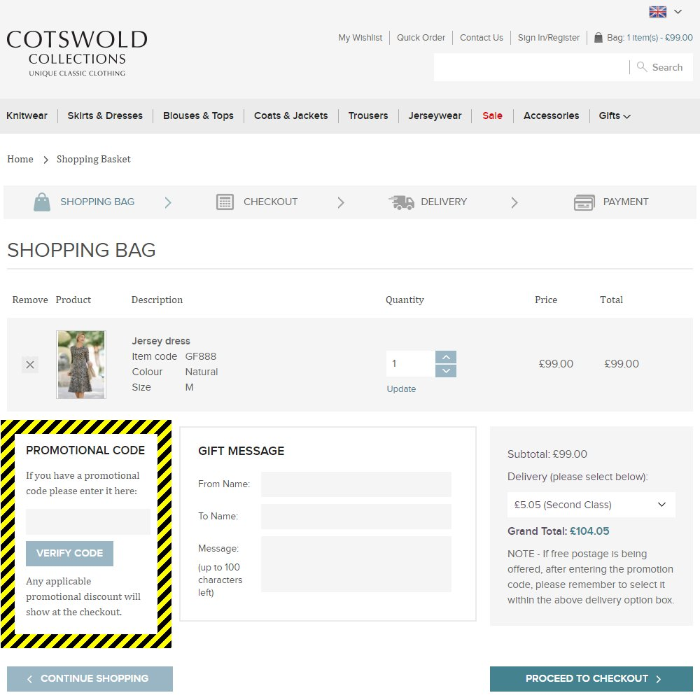 Cotswold Collections Discount Code