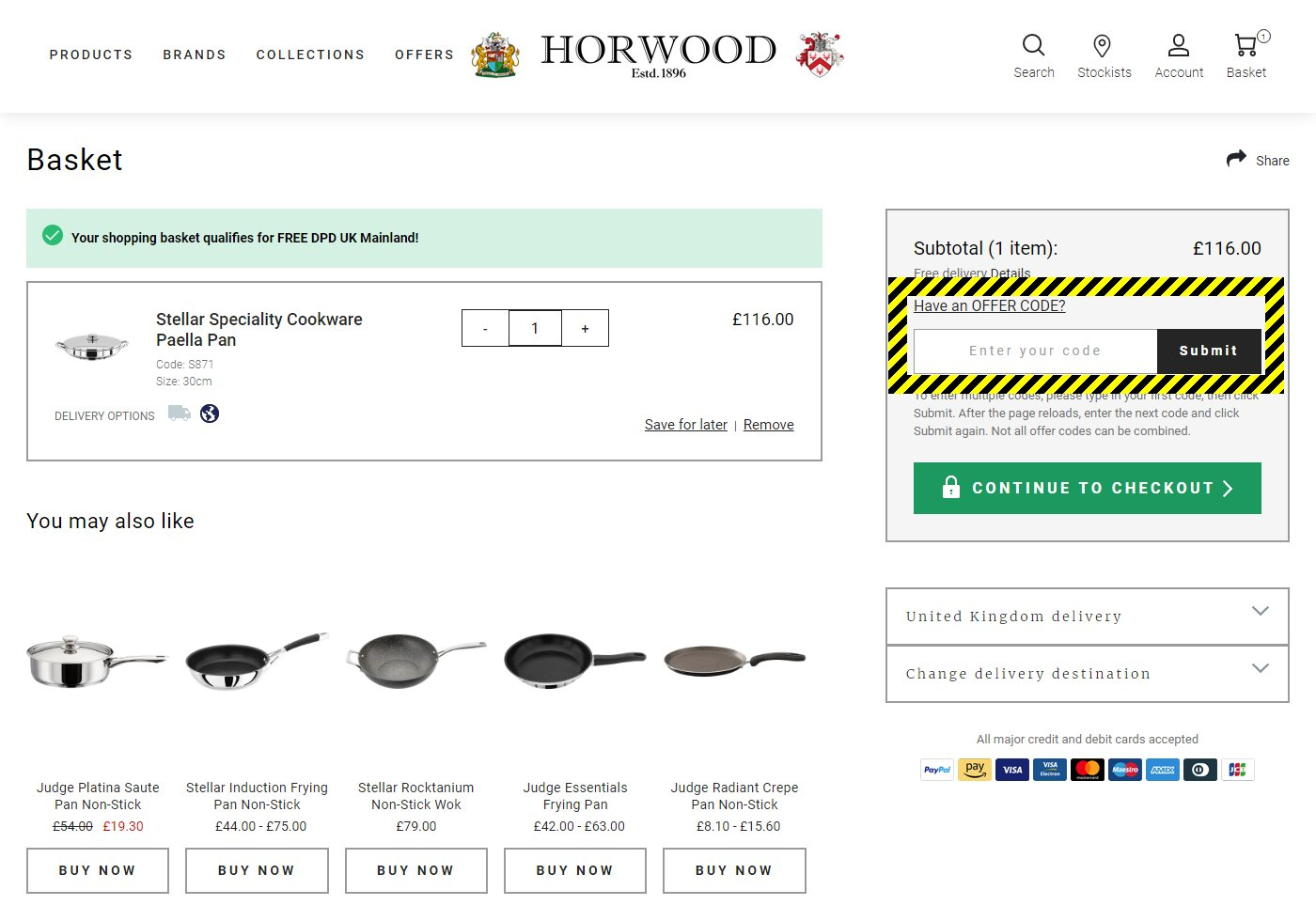 Horwood Homewares Discount Code
